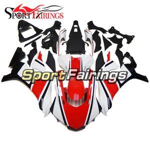 Sportbike ABS Bodywork For R1 15 16 17 18 19 YZF1000 2015 2016 2017 2018 2019 YZFR1 Complete Fairings Kit Red White