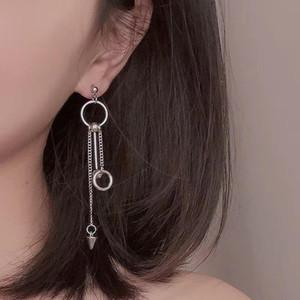 YWZIXLN Fashion Bohemian Earrings Tassel Metal Ball Chain Pendant Drop Earring Mascot Ornaments For Women Wholesale E0130