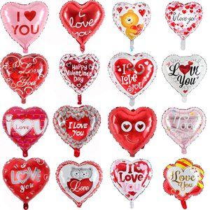18inch Love Aluminium Foil Balloons Wedding Marriage Party Decorations Balloon Valentine's Days I love you Ballon Decor Romatic Globos