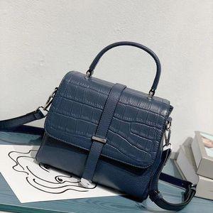 Bag Fashion Leather Handbag Luxury Women Designer Cowhide Leather Handbag Purse Women Women's Genuine Real Thwph