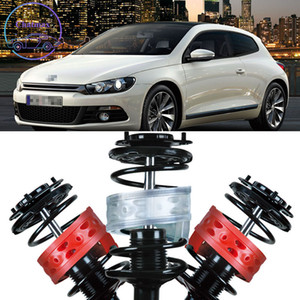 For Volkswagen VW Scirocco 2pcs High Quality Front Shock Suspension Cushion Buffer Spring Bumper Rubber Buffer SEBS