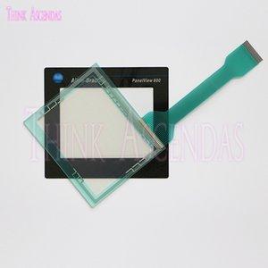 Brandneue hochwertige PanelView 600 2711-T6C3L1 2711-T6C5L1 Touchscreen Panel Touchpad Touchscreen Schutzfolie