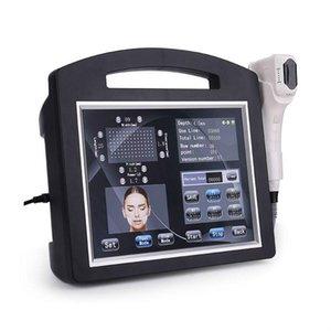 2020 Neueste Hohe Intensität Fokus Ultraschallgerät für Faltenentfernung Haut Anziehen Gesichtsheben Schnell Freies Verschiffen