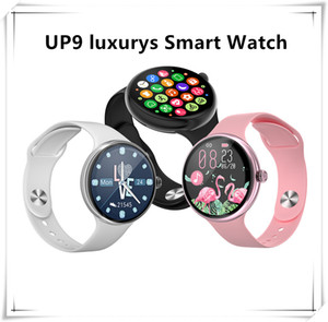Retail UP9 luxurys Smart Bluetooth Watch 44mm lWO 12 Wireless Charging Sport Wisrtwatch Heart Rate Monitor Waterproof For Android With Box