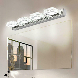 Modern Bathroom Lighting LED Crystal Mirror Front Make-up Wall Lamp Vanity Light