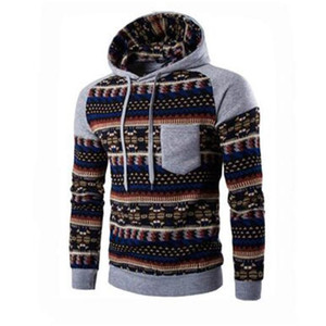 Hoodies Men 2020 Brand Male Long Sleeve Print Hooded Sweatshirt Mens Hoodie