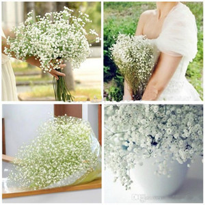 New Arrival Fabric Gypsophila Baby Breath Artificial Silk Flowers For Home Living Wedding Decoration 100pcs lot