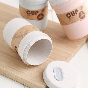 Buğday fincan mühür up vanası bento öğle yemeği kutusu kahvaltı için lapa çorbası kupa mikrodalga kaşıkla taşınabilir 4 5lm j1