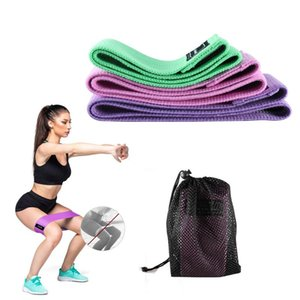 Yoga Resistance Loop Bands for Home Fitness Strength Training Pull Rope For Sports Pilates Expander Fitness Gym Equipment