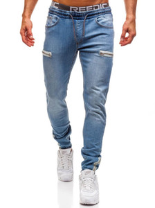 Skinny Jeans Men Boyfriend Streetwear Hip Hop Designer Denim Pants with Pockets Fashion Hole Trouser Mens Clothing 4XL