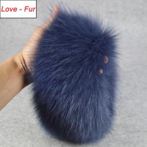 2020 Fashion Lady Real Fur Scarf Girls Warm Soft Knit Good Elastic Real Fur Headband Brand Genuine Ring Scarves