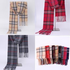 Men Women Plaid Autumn Winter Scarf Women Warm Scarves 190*32cm Fashion Casual Scarfs Cashmere Bufandas Hombre1