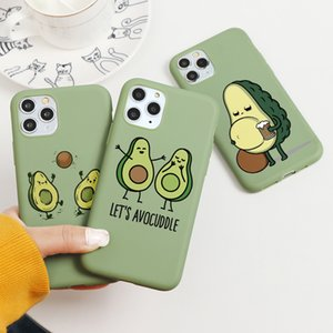 Avocado Yoga Funny Pattern Case For iPhone 12 Pro XS Max XR X 2020 7 8 PlusCover Coque For iPhone XR TPU Silicon