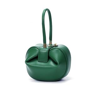 Fashion Lady Royal Wedding Clasp Nina Ella Demi Bag Genuine Couro sacola bolsa bolsa de celebridade bolsa para mulheres