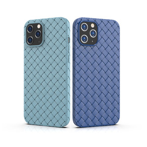 Mobile Phone Case Suitable For new iPhone12 Mobile Phone Shell Woven Cooling Breathable TPU Protection Case DHL Free Shipping
