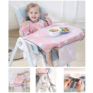 High Quality Newborns Bib Table Cover Baby Dining Chair Gown Waterproof Saliva Towel Burp Apron Food Feeding Accessories Q1125