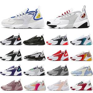 Grey Infrared Triple Black Zoom 2K M2K Men running shoes Tekno Race Red Royal Blue Unite Totale Creamy White mens women sports sneaker