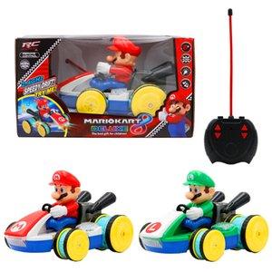 21cm 2 Типы Super Mario Bros RC CAR фигурка Коллекция модели с коробкой