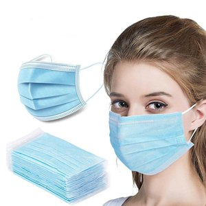 3 layer Disposable Non-woven Mask 3 layer Adult Dust Mask Childrens Mask 12-24 Hours Free Delivery