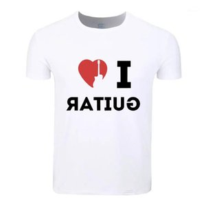Love Guitar Cotton Students Summer T-Shirt Custom Casual Short Sleeve Men Women Boys Girls T Shirt Tees Kids Tshirt1