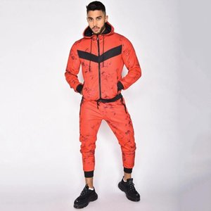 Men's Autumn 2 pieces Autumn Running tracksuit men Sweatshirt Sports Set Gym Clothes Men Sport Suit Training Suit Sport Wear