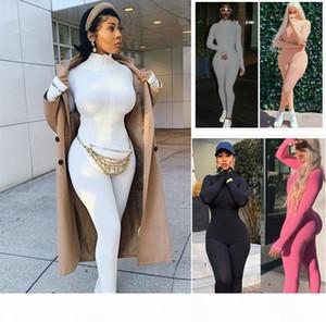 Designer Women Jumpsuit Rompers Pajama Womens Onesies Long Sleeve Bodysuit Plus Size Dhl Styles Clothing 8732