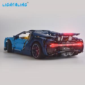 مصباح Lightaling Light for 42083 Technic Series LED Lighting Kit متوافق مع 20086 10917 68001 (لا يشمل النموذج) LJ200928