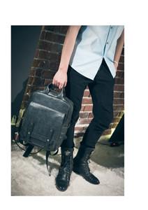 PU MEN backpack fashion school bag men's backpack casual NEW style computer bag men's bags
