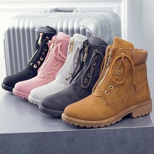 Boots Winter 2020 Comfortable Shoes For Women New Brand Style Women's Ankle Boots Brand Designer Ladies Shoes Botas Mujer