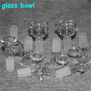 Glass Bowl Pieces Bongs Bowls Funnel Rig Accessories 18mm 14mm Male Female Heady Bowl For Smoking Water Pipes Dab Rigs Bong Slide