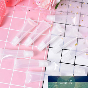 10Pcs lot 5 10 15ml Empty Lipstick Tube Lip Balm Soft Tube Makeup Squeeze Clear Lip Gloss Container
