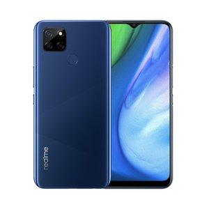 "Original Realme V3 5G Mobile Phone 6GB RAM 64GB 128GB ROM MTK 720 Octa Core Android 6.5"" Full Screen 13MP AI Face ID Fingerprint Cell Phone"