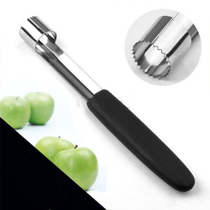 Apple Corer Corer Aço Inoxidável Fruta Pera Corters Removedor de Sementes Pitter Easy Twist Kitchen Núcleo Ferramenta Fruta Coração Separador EEF3532