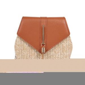 Multiple styles women Straw bag Small woven beach Straw clutch Bucket Bags Lady Travel Purses and Handbags Female Shoulder Bag