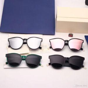 Brand Sunglasses-2018 New Korean Top Fashion V brand GM MONSTER Sunglasses Luxury Women's Men sunglasses Ocean Lens With Original Case