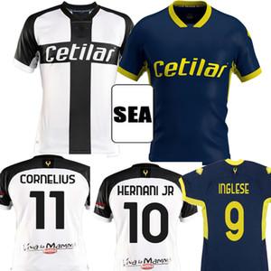 Таиланд 2020 2021 Parma Calcio Soccer Jerseys Дармиан Гервинхо Ингльская Кука 20 21 Карамо Корнелиус Кулусевский Адорант Футбольные рубашки