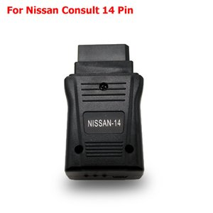 Para Nissan consultar 14 PIN USB Interface OBDII Scanner Diagnostic Scanner OBD2 Cars Repair Tool 14pin USB Cable Conector