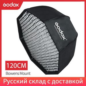 """GODOX SB-UE 120 CM 47 """"Taşınabilir Sekizgen Şemsiye Softbox Bowens Mount Stüdyo Flaş Softbox Için Petek Izgarası"""