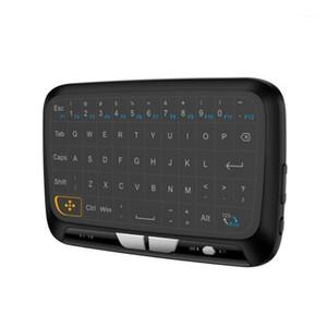 2020 Yeni H18 Taşınabilir Mini Touchpad Klavye Akıllı TV PC Telefon Için Kablosuz Hava Fare