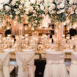 6cm 8CM 10cm Big Terrarium Borosilicate Hanging Glass Flower Vase Round Tabletop Vases Home Decor Wedding Decoration Transparent