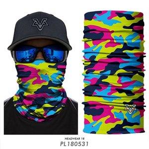 Custom face mask Camouflage Motorcycle bike cycle bandana mascarilla bandera españa komin na twarz man women headwear Camo face