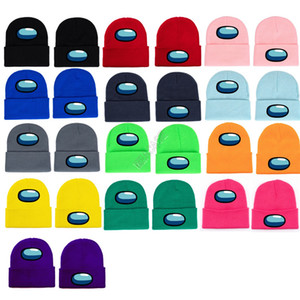 Among Us Game Beanie winter warm Cap Designer knitted hat Outdoor Riding Cycling Skiing Men Women Cosplay hats Christmas gift hot D120301