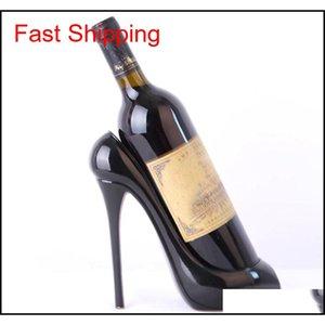 Champagne Wine Bottle Holder High Heel Shoe Stylish Rack Basket Accessories For Home Bar Accessorie qylSYr yh_pack