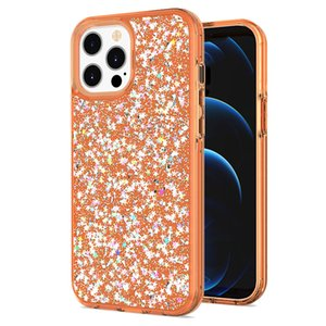Multi-Color epoxy TPU phone case for iphone 12 pro max phone cases for iphone 11 pro max case xr xs max