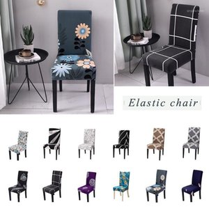 new Floral Printing Chair Covers Spandex Stretch Elastic Chair Cover For Wedding Dining Room Office Banquet Housse De Chaise1