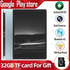 Google play Dual Sim phone call 10 inch tablet pc quad Core 2GB RAM 32GB ROM Dual cameras Android 9.0 OS 1280x800 IPS HD Screen1