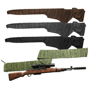 140 cm 54 pulgadas tratados con silicona gun calcetines calcetines de varilla rifle de poliéster de disparo de pesca caja protectora bolsa CASA caza táctica