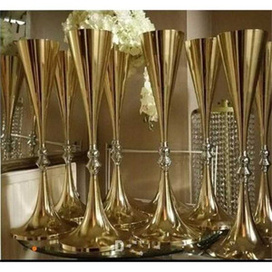 70cm 27 inches tall White Silver Flower vase Bling Table Centerpiece Sparkling Wedding Decoration Banquet Road Lead Decor