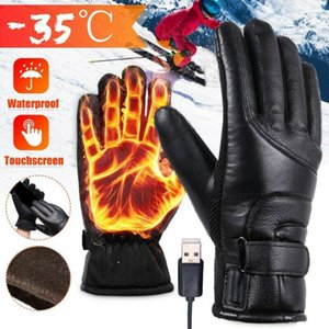 Electric Heating Gloves Winter Motorcycle Riding Warm Gloves USB High Heat Constant Temperature Thermal Heating Gloves Q1127