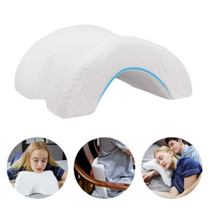 Memory Foam Neck Pillow Arched Pillow Nap Couple Sleeping Slow Rebound Side Sleeper Arm Rest Back